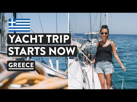 SAILING GREEK ISLANDS 🇬🇷Day 1 & 2   Med Experience Greece Cruises