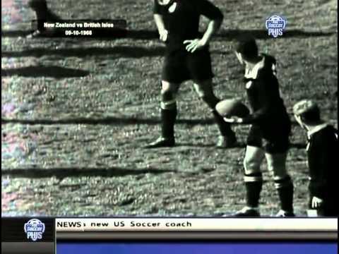 1966 Test Match: New Zealand All Blacks vs British Irish Lions (4th Test)