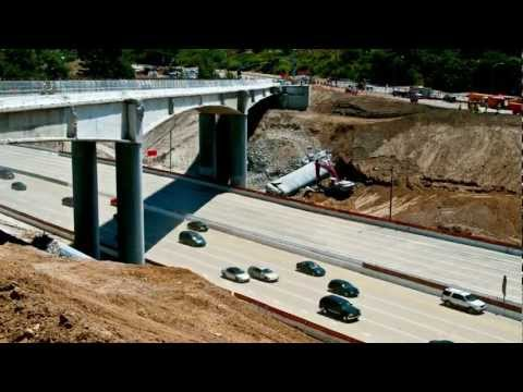 The 405 Carmageddon (2011) in Time-Lapse