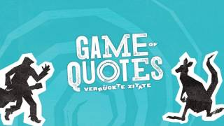 Game Of Quotes - Spielanleitung