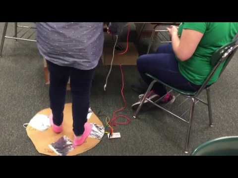 Exercise Games with Scratch & Makey Makey