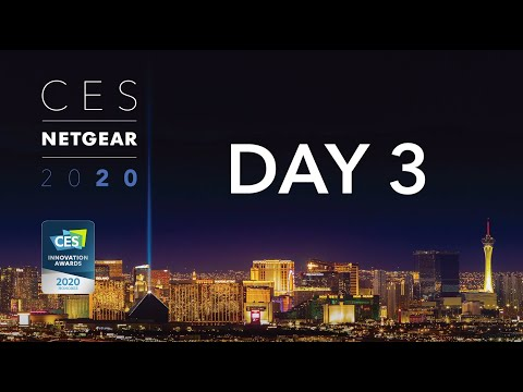 CES 2020 PREMIERE | What's New With NETGEAR Business: Day 3
