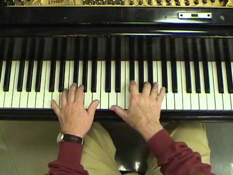 Ryan Thomson demonstrates Contra, Irish, ceili dance piano back up vamping for fiddlers