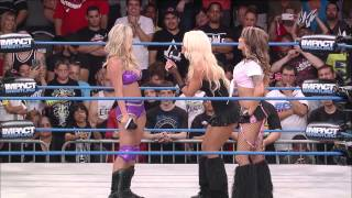 Angelina Love Wants her Rematch Now and Taryn Terrell Responds (Aug 7, 2014)