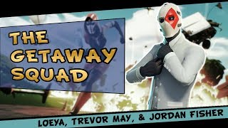 Fortnite - New Getaway Game Mode! ft. Loeya, Trevor May, & Jordan Fisher - September 2018 | DrLupo