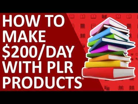 How To Make $200 Per Day On YouTube With PLR Products