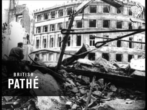 Russian Newsreel - Taking Of Berlin (1945)