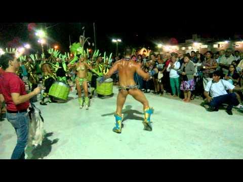 Maxi Diorio en el Carnaval de Concepción del Uruguay