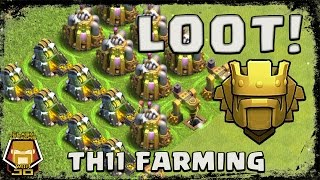Clash of Clans: Farming Dark Elixir at TH 11 with Ground Strategy