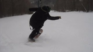 Snowboard Tricks for Beginners - Flatland Spins, Butters, Presses and Switch Nollie Spin