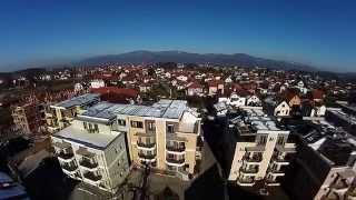 Horizon Blade 350QX2: Vrnjačka Banja - Solaris Resort From The Air