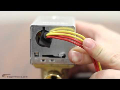 zone valve hook up
