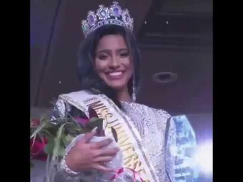 Miss Universe Curaçao 2019 - Kyrsha Attaf - Crowning Moment