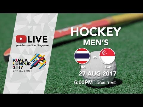 Hockey 🏑 Men's Thailand 🇹🇭 vs Singapore 🇸🇬 | 29th SEA ...