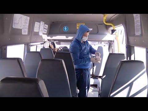 Как общественный транспорт Тамбова борется с коронавирусом