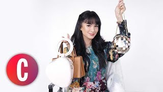 Purse Paparazzi: How Many Items Can Heart Evangelista Fit Inside Her *Small* Bags?