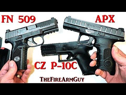CZ P-10C vs FN 509 vs Beretta APX