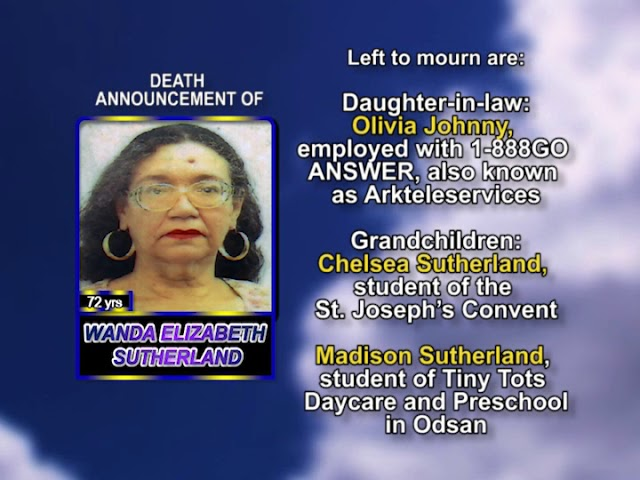 Wanda Elizabeth Sutherland meduim
