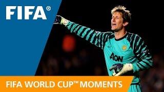 World Cup Moments: Edwin van der Sar
