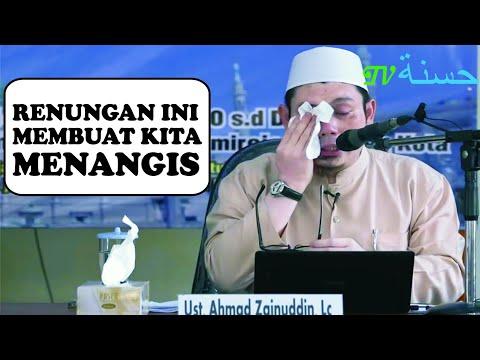 Ustadz Ahmad Zainudin Menangis Ketika Menerangkan Luasnya Rahmat Allah
