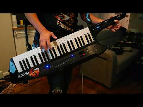 Keytar cover: Gamma Ray - Master of Confusion