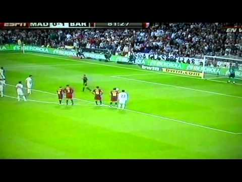 Cristiano Ronaldo Penalty Vs Barcelona 2011