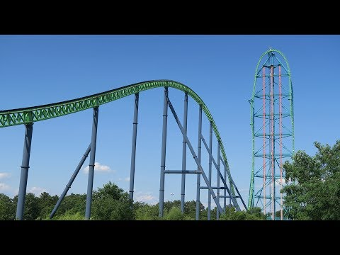 Six Flags Great Adventure - Roller Coaster Road Trip (Day 3)