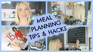 MEAL PLANNING TIPSHACKS