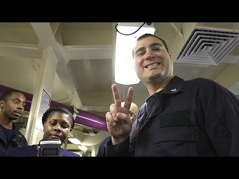 A Peek Into Navy Sailors' Lives At Sea – Aircraft Carrier USS Abraham Lincoln Underway Deployment