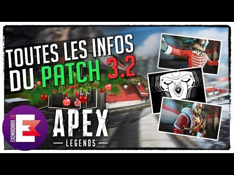 TOUTES LES INFOS DU PATCH 3 2 (EVENT MIRAGE TRAIN ET NÖEL)   Apex Legends News