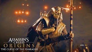 The Curse of The Pharaohs Ending - Assassin's Creed Origins (FINAL BOSS SCENE)