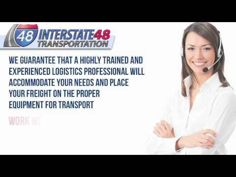 Flatbed Trucking Service | Heavy Haul Trucking by Interstate 48