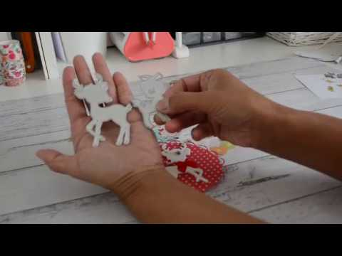 Aliexpress | deer metal dies | project share | DIY Embellishments