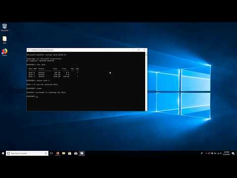 How To Clean A USB Drive With Microsoft Diskpart
