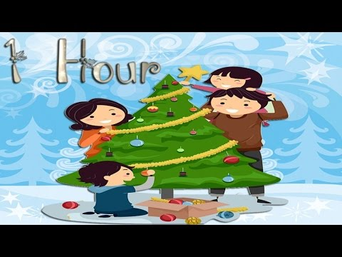 MERRY CHRISTMAS: 1 HOUR of Greatest Family Chrsistmas Songs- Including Instrumental Music - YouTube
