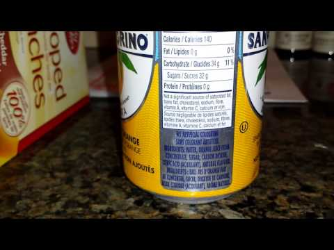 Reading Food Labels - Nutrition 101