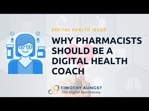 How Pharmacists can become a Digital Health Coach thumbnail