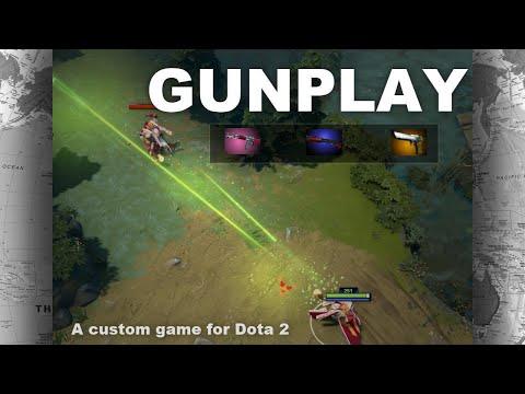 видео: dota 2 Новая жизнь. custom games. gunplay - ПЕРЕСТРЕЛКА