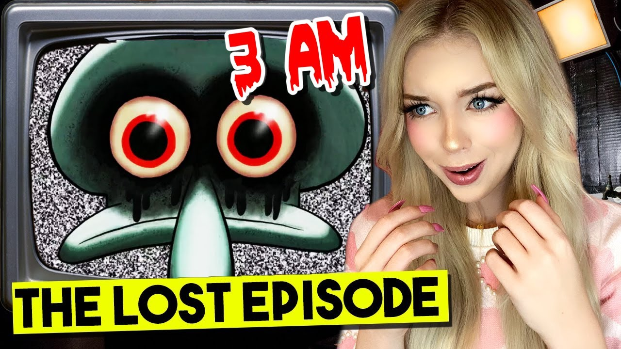 DO NOT WATCH SPONGEBOB THE LOST EPISODE VHS TAPE AT 3AM...(ITS CURSED!)