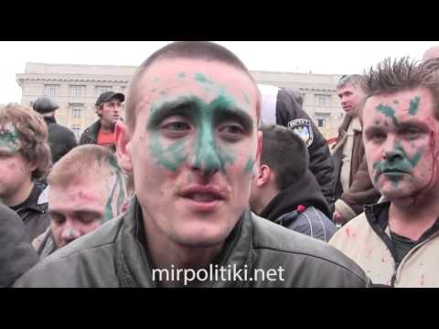 Ukrainians Nationals Brutally Attacked by Russian Mob Kharkiv