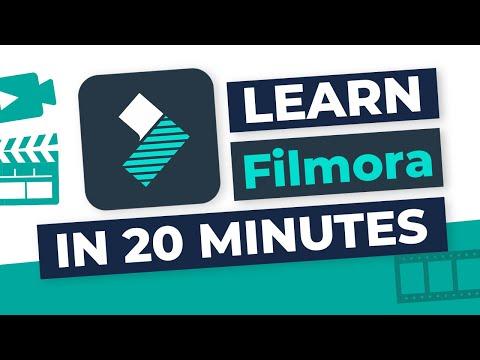 Filmora 2020: Full Tutorial For Beginners In ONLY 20 Minutes