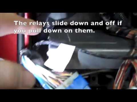 1995 Suzuki Sidekick Dash Wires - YouTube