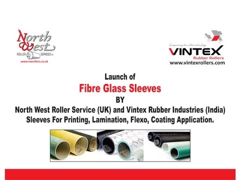 Fibre Glass Sleeves Rollers - Product Launch Event