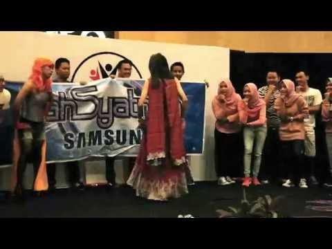 Dahsyatnya samsung awards semarang 01 2016 - dahSyat 04-10-2016,gokiiillll abisss!!!!