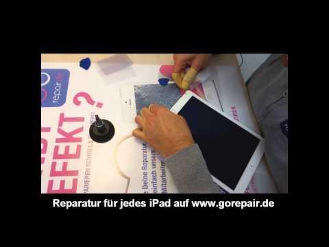 GOREPAIR.DE Apple iPad Air 2 Display Austausch Glas Tausch Reparatur disassembly
