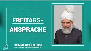 Finanzielle Opfer: Tehrik-e-Jadid | Freitagsansprache mit deutschem Untertitel | 06.11.2020