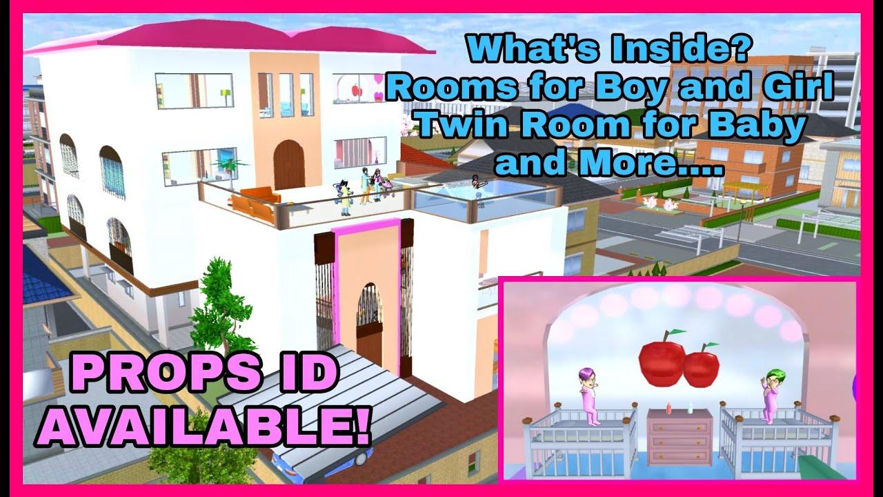 Download Now: New Contemporary Boy Mansion Design in Sakura School Simulator