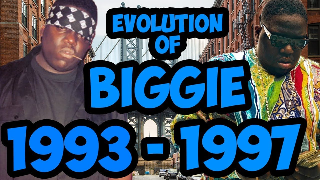 Download The Evolution Of Notorious BIG 1993 - 1997 (Biggie Smalls) Timeline Fan Point Of View