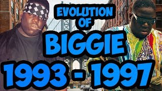 The Evolution Of Notorious B.I.G. 1993 - 1997 (Biggie Smalls) Timeline Fan Point Of View