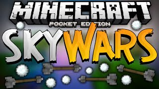 CLOBBERING TIME!!! - Sky Wars PVP for MCPE - Minecraft Pocket Edition